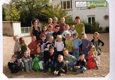 Photo de classe a Baptiste