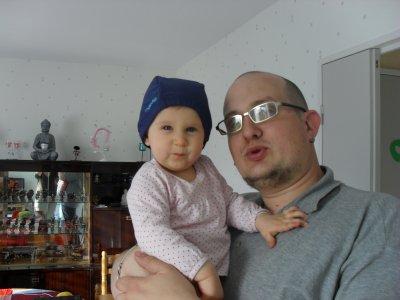 Clara et son papa