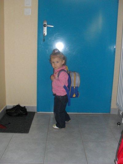 Clara aussi voulais aller a l'ecole