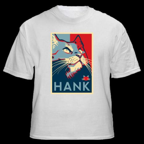 EN IMAGES - Hank, le chat qui veut être sénateur américain en 2012