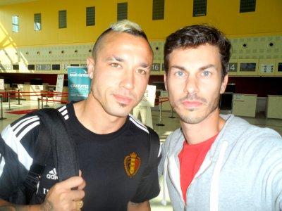 Equipe de Belgique (Mertens - Nainggolan - Lukaku - Witsel - Chadli - Benteke)
