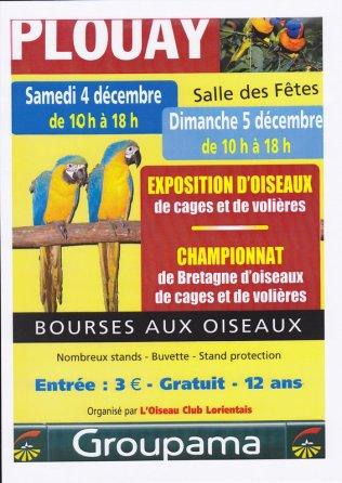 CHAMPIONNAT DE BRETAGNE des OISEAUX 2010
