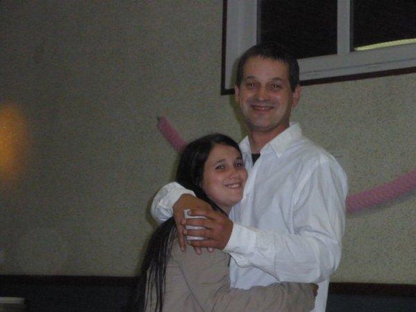 moi et tmon papa <3