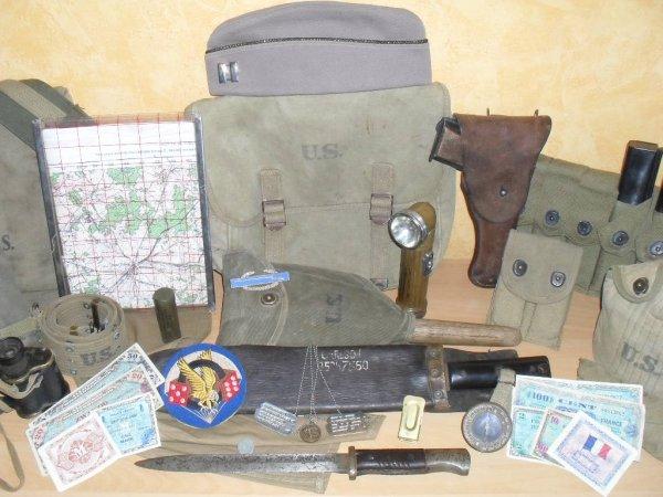 Display para U.S. WWII.