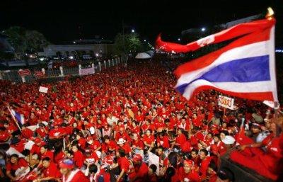 Actualité en thailande ( CHEMISE ROUGE )