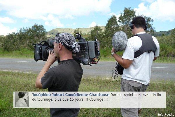 Plus que 15 Jours de Tournage pour Joséphine Jobert
