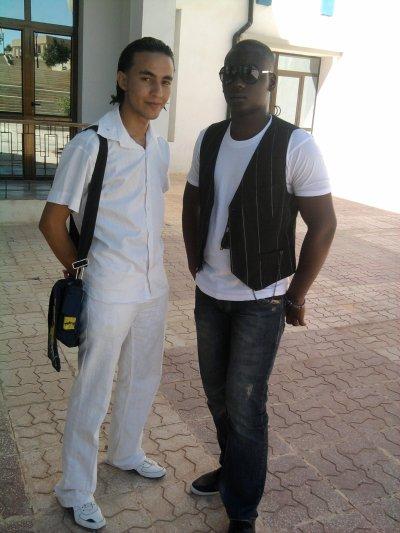 Moi et chriki Mourad