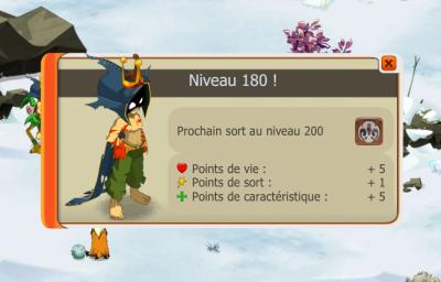 Séance d'xp frifri et up du Sacri 180 !!