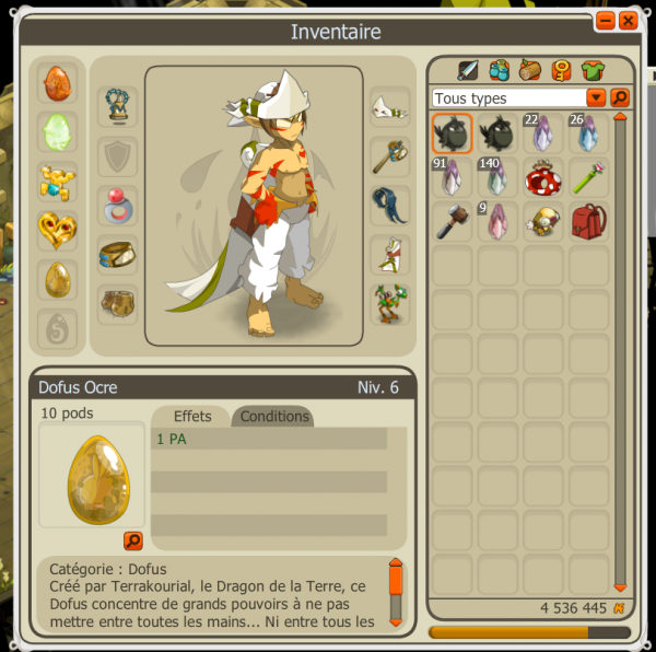 Dofus ocre IN THE POCKET !!!