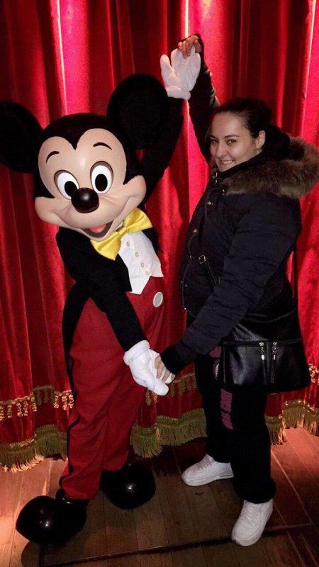Journée Disneyland hihihi avec Mickey