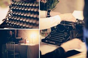 La machine à écrire fonctionne de nouveau.