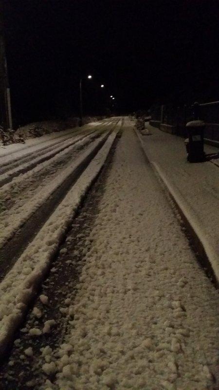 1 décembre sous la neige
