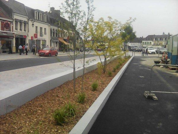 Un chantier 5 mois de boulot que l'on vient de finir a Montreuil sur Mer