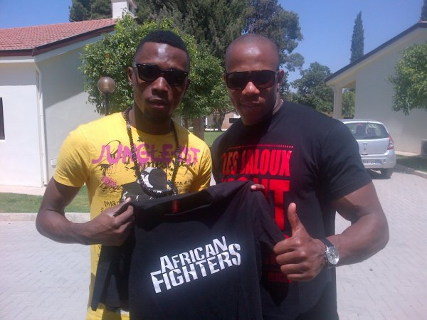 AFRICAN FIGHTERS AVEC SERGE BEYNAUD