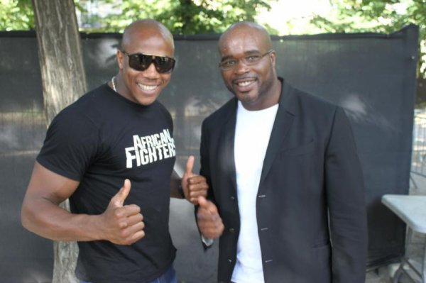 AFRICAN FIGHTERS AVEC JEAN MARC MORMECK