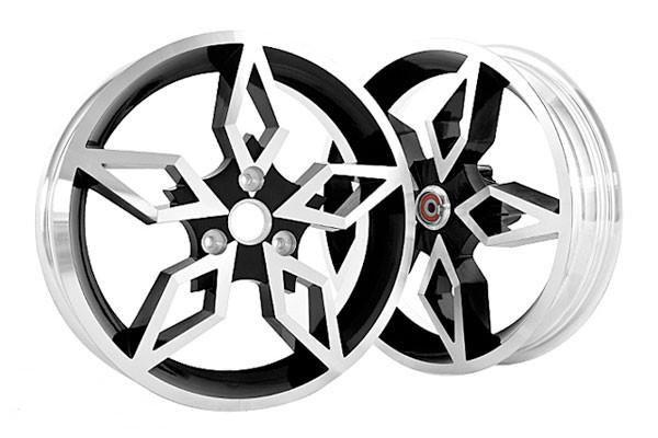 Gyronetics jantes Black Diamond, MBK Nitro/Yamaha Aerox