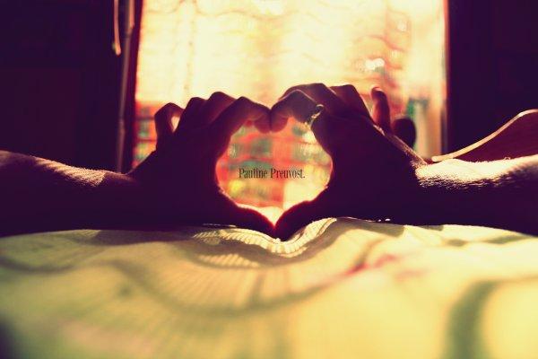 L'amour n'est pas un mot, n'est ni un sentiment, c'est devenut un rêve..