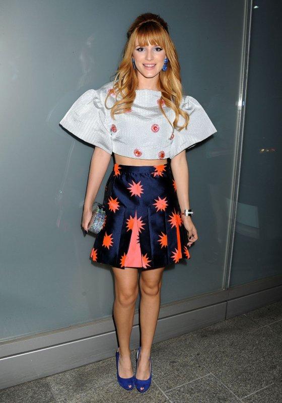 Bella Thorne pose pour  Flaunt Magazine
