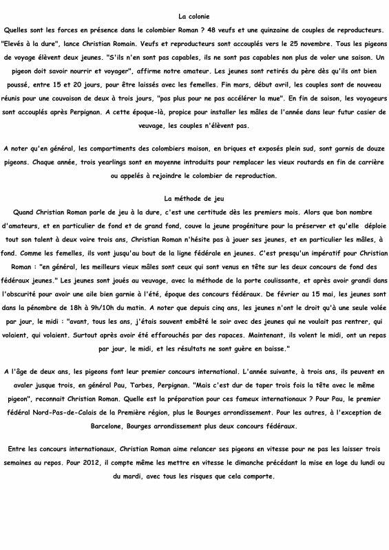 REPORTAGE DE PIPA CHEZ CHRISTIAN ROMAN DE MARQUETTE EN OSTREVENT
