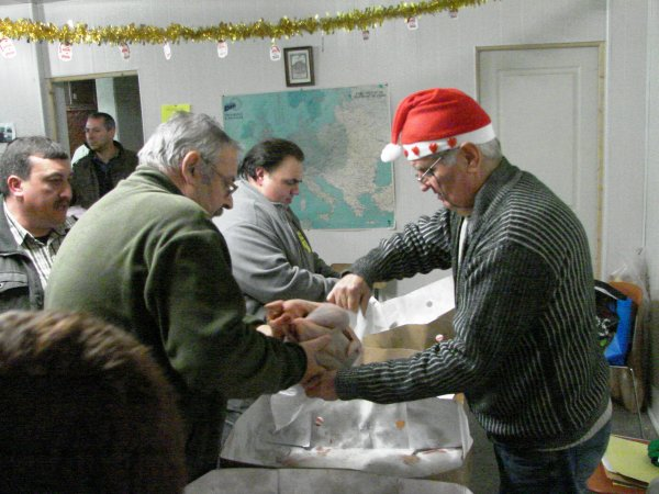SAMEDI 22 DECEMBRE 2012 SOIREE CHAPONS POUR LA REVANCHE
