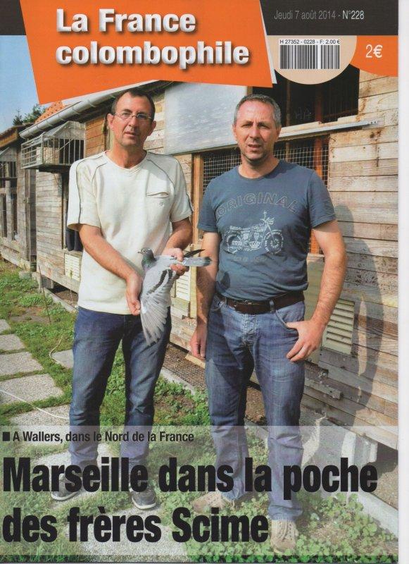 LA GAZETTE DE LA REVANCHE REPORTAGE SUR SCIME FRERES DE WALLERS