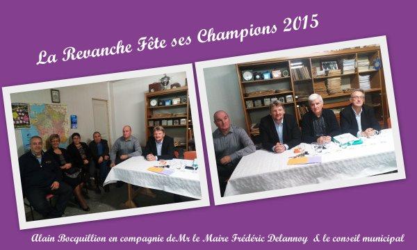 LA REVANCHE REMISE DES PRIX 2015