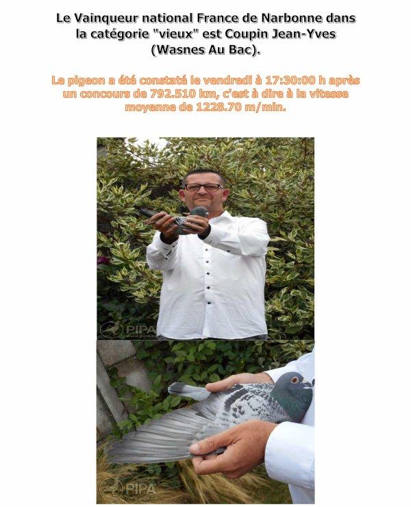 LA GAZETTE  INFO JEAN YVES COUPIN DE LA REVANCHE HORNAING