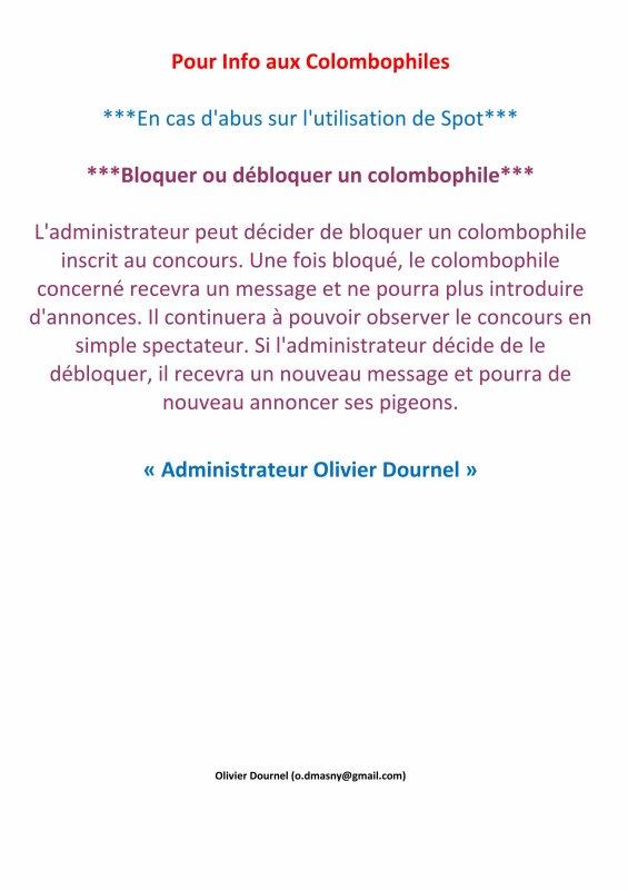 LA GAZETTE INFO GROUPEMENT COLOMBOPHILE DE DOUAI