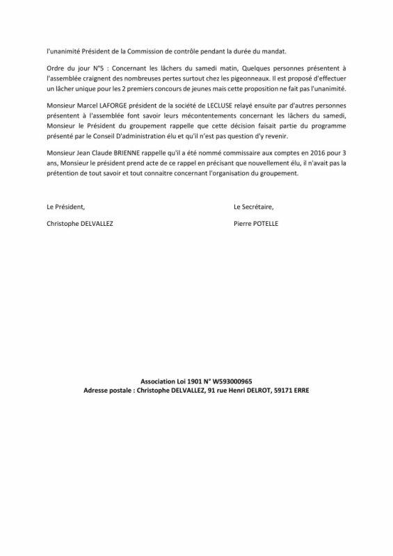 LA GAZETTE INFO GROUPEMENT DE DOUAI  2018