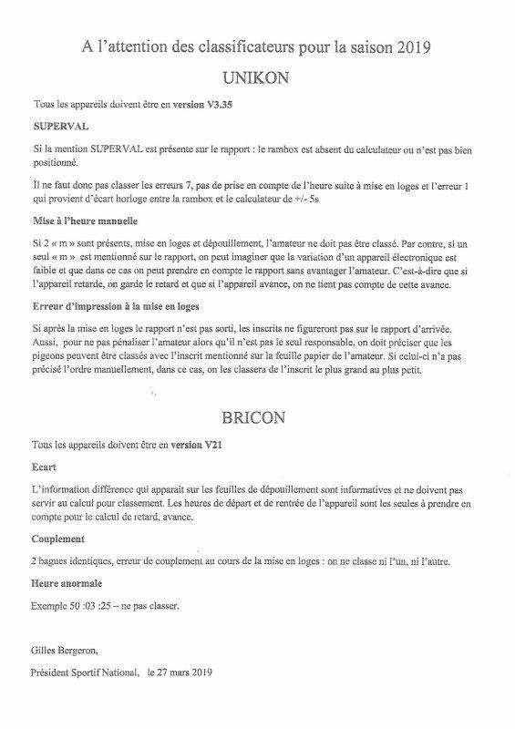 LA GAZETTE INFO COMPTE RENDU UNIKON BRICON  2019