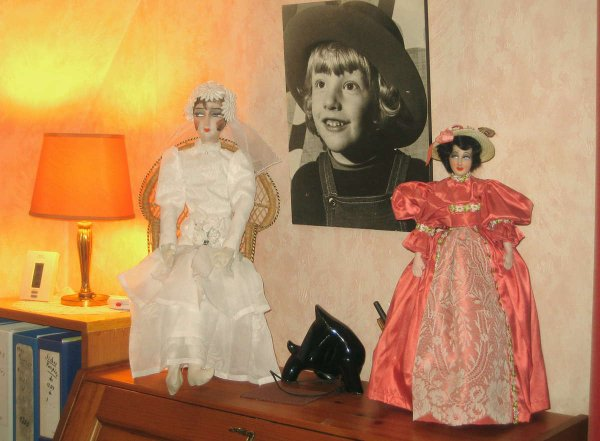 Deux poupées de salon