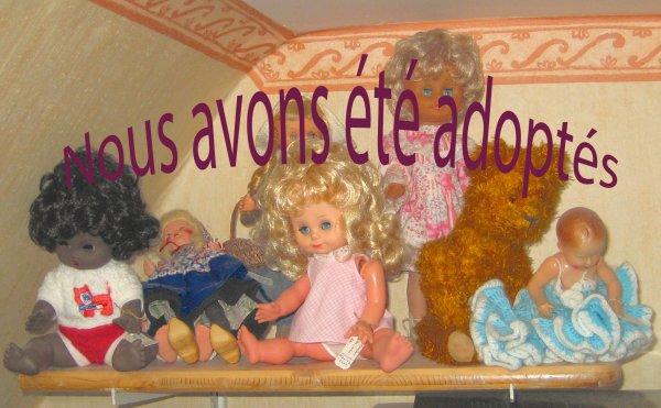 Quelques poupées à adopter