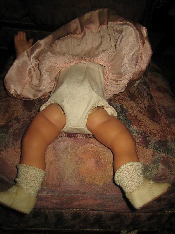 retour du salon de la poupée à Bruges