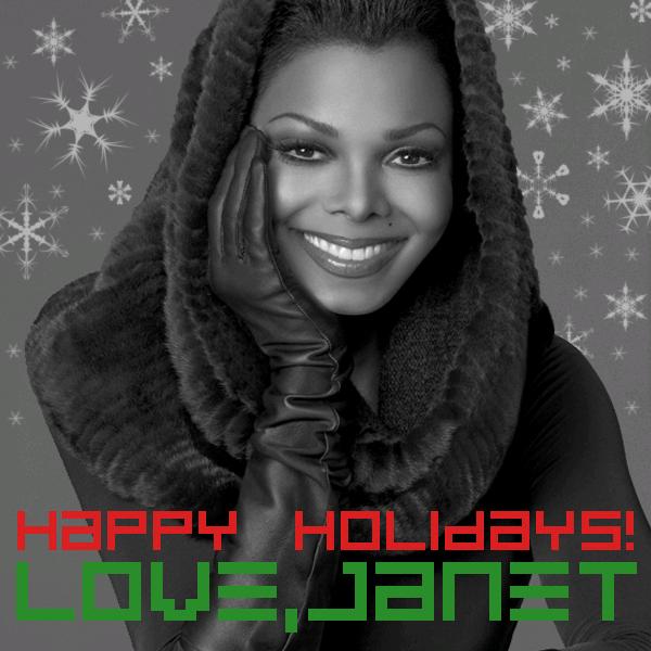 Comme tous les ans, Janet à envoyé un mail à ses fans pour leur souhaiter de bonnes vacances. Alors voici ce que j'ai/ on à reçu: we love u too Janet