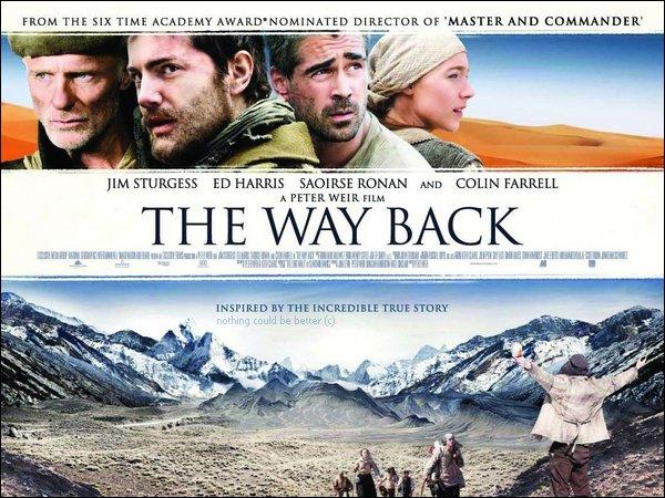 .Actuellement à l'affiche !_____Le Chemin de la liberté, réalisé par Peter Weir.D'après une histoire vraie, un film recommandé entre autres par Le Point, Première, Le Figaroscope, Le Monde, Libération, Paris Match !