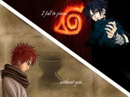 gaara et sasuke