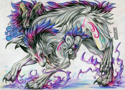 Haru , la louve de Yuki :D