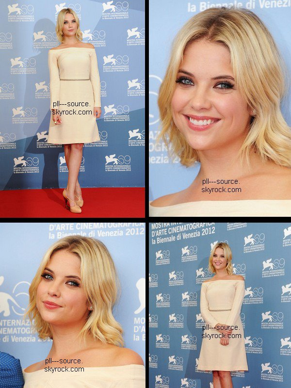 Ashley Benson At The 69th Venice Film Festival