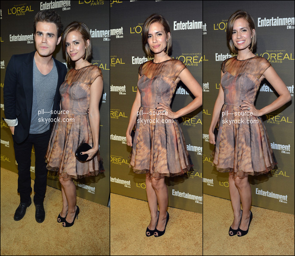 Torrey Devitto At Entertainment Weekly Pre-Emmy Party