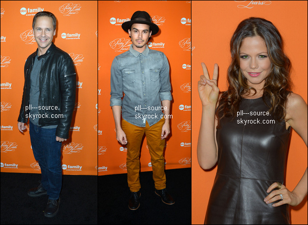 PLL Cast at Halloween Special Screening