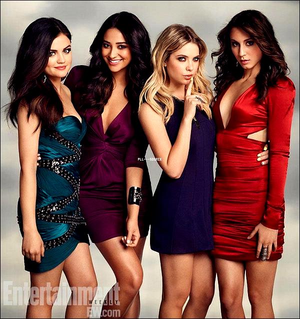 Découvrez le photoshoot de nos quatre liars pour EW magazine.