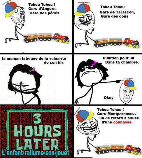Le train :