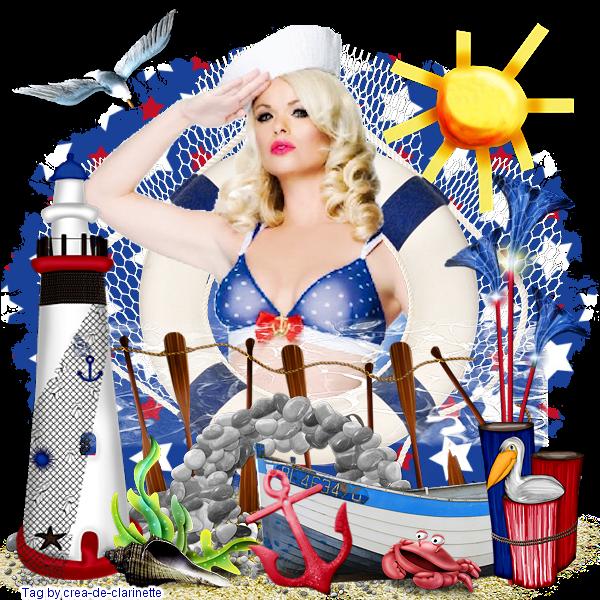 Fée Comme Moi ... Music - Summer dress - Sailor beach