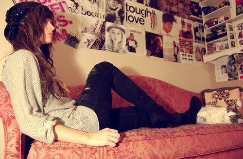 T'es celui qui fait que chaque matin de ma triste vie est parfait ♥