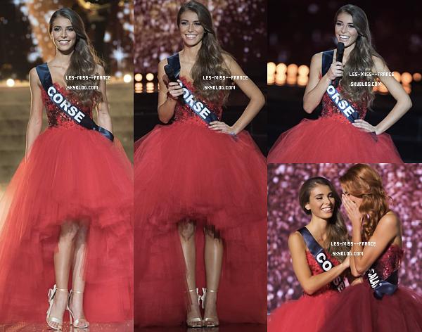 Miss Nord-Pas-De-Calais est élue MISS FRANCE 2018 !