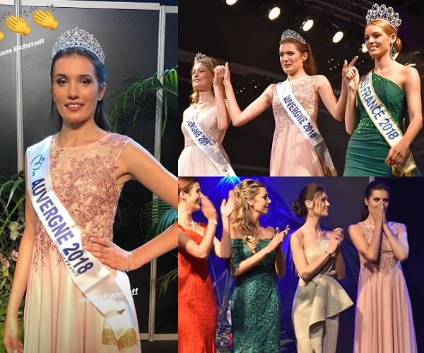 Miss Auvergne 2018 est Romane Eichstadt
