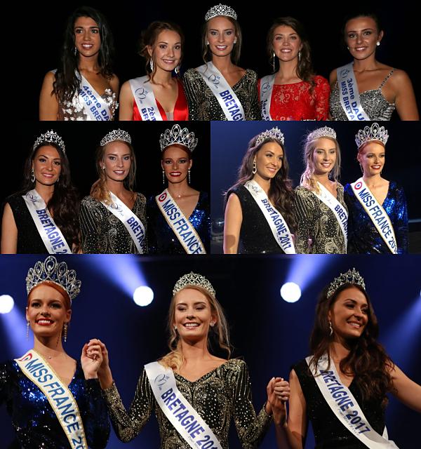 Miss Bretagne 2018 est Émilie Bachellereau