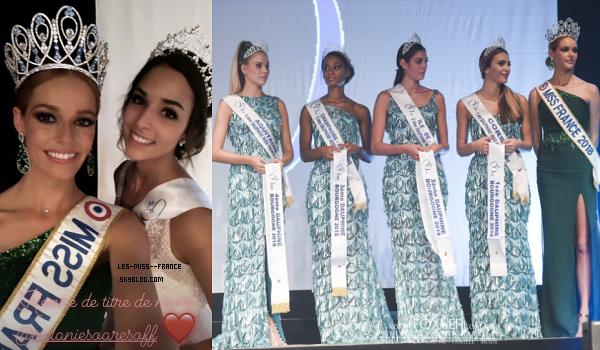 Miss Bourgogne 2018 est Coline Touret