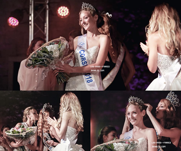 Miss Corse 2018 est Manon Jean-Mistral
