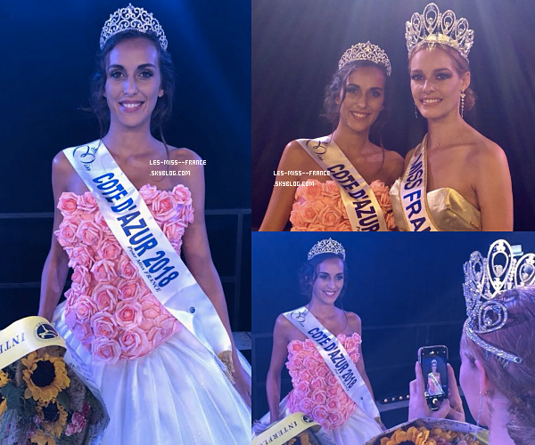 Miss Côte d'Azur 2018 est Caroline Perengo